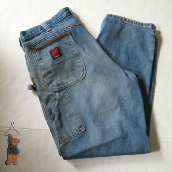 0eafe299 Wrangler Jeans | Riggs Workwear Blue Denim | Poshmark